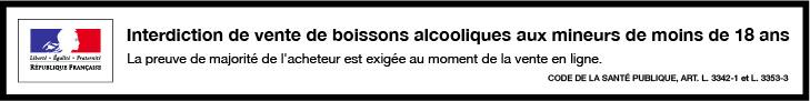 Bandeau boissons alcoolisées